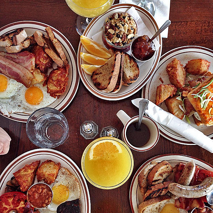 5 suggestions brunchs Plateau Mont-Royal Mile-End