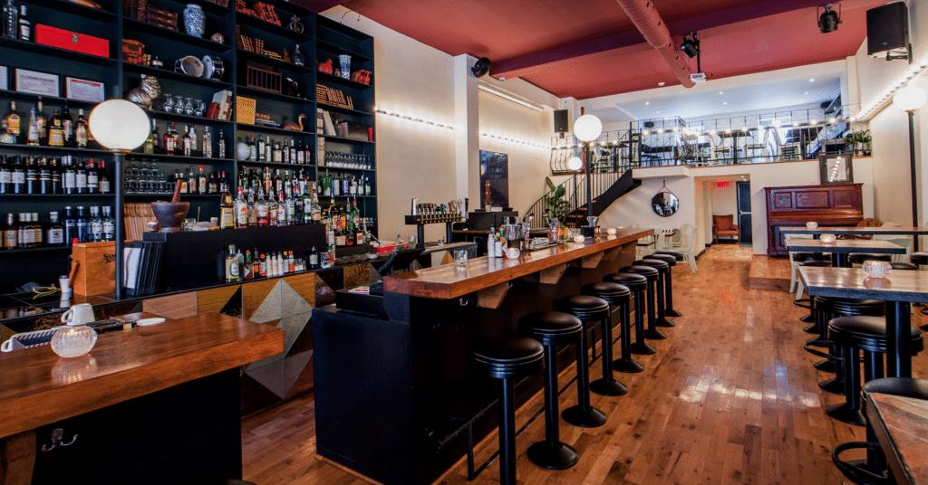 Bar quartier Palco Verdun Montréal