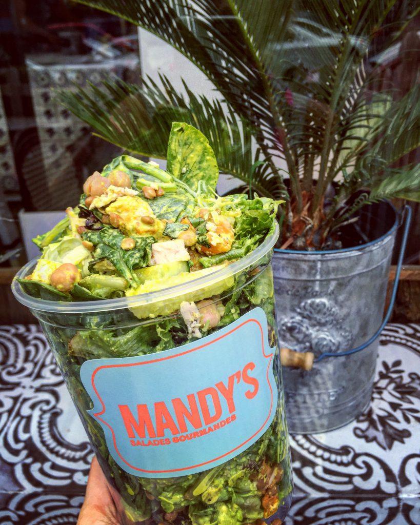 Mandy's salades : manger santé et à sa faim