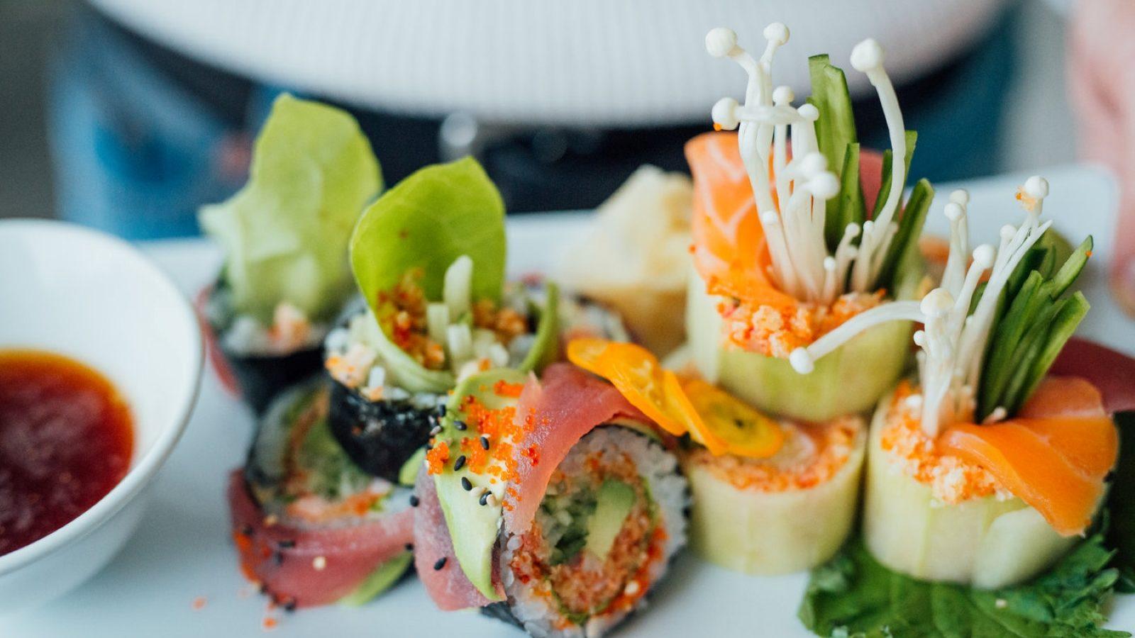 meilleurs sushis