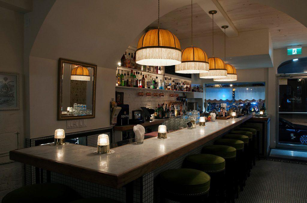 Bar Kabinet Montréal Laurier russe Datcha