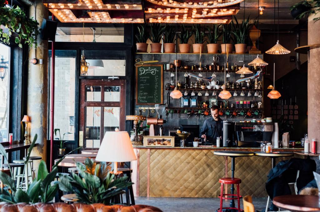 Darling cafe bar montreal