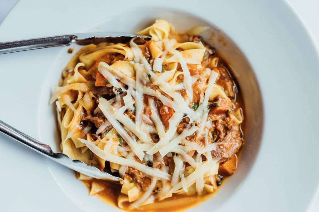 Restaurants italien ouverts pour take-out pendant le confinement