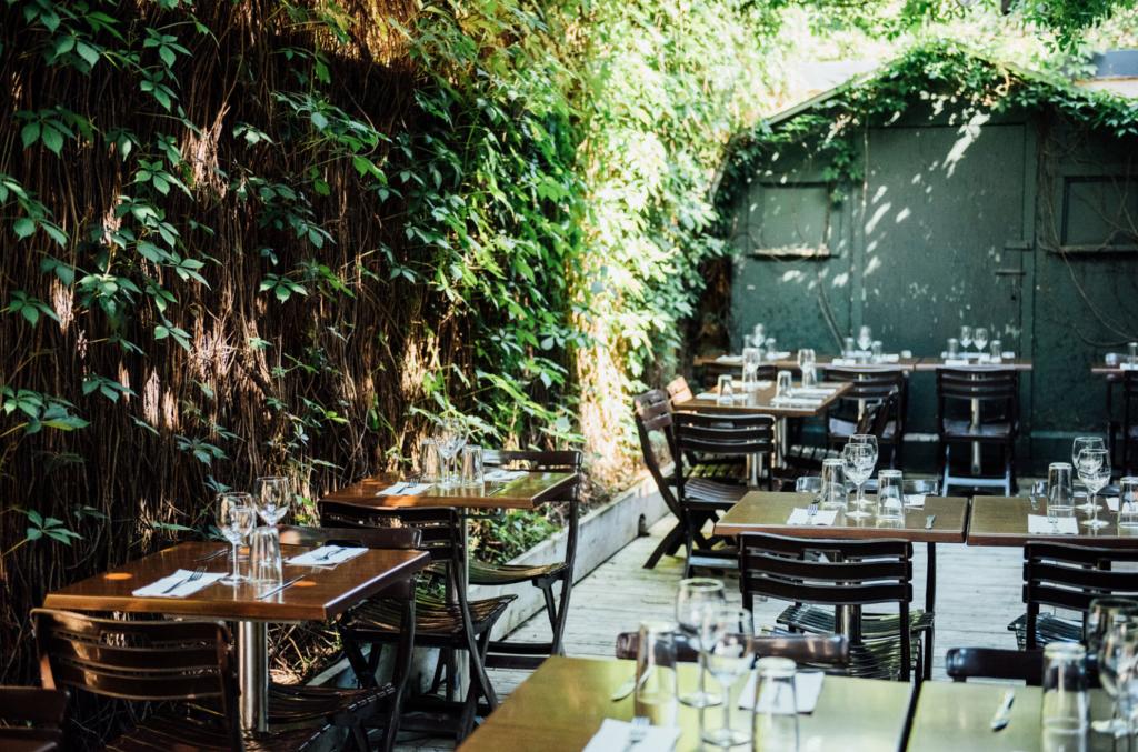 Terrasses de restaurants Apportez votre vin : où aller ?
