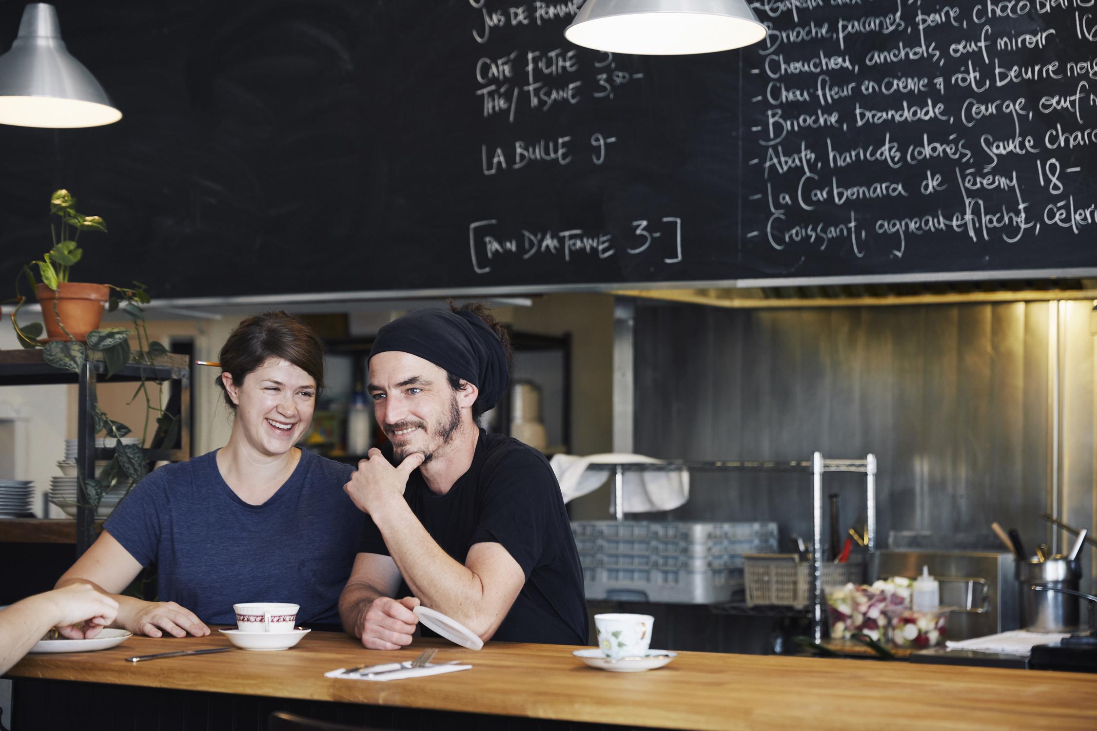 Bistro Rosie Restaurant Montréal Villeray