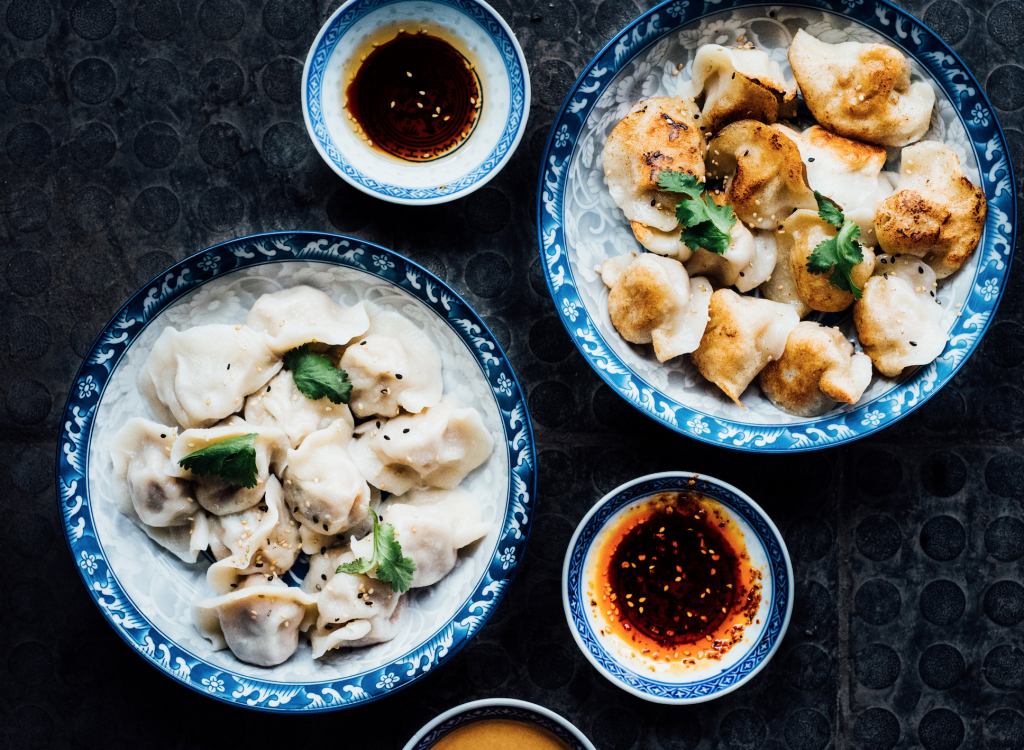 la maison de mademoiselle dumpling plaza st-hubert dumplings
