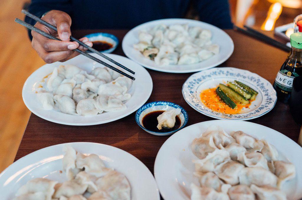 Dumpling Hut dumplings plateau montreal