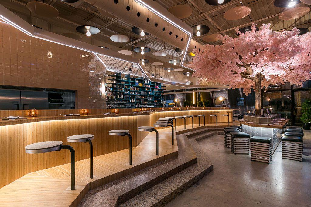 le blossom bar restaurant montreal most beautiful restaurant