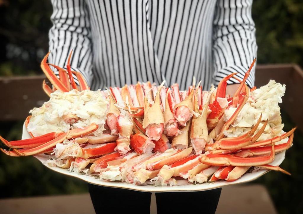 manger du crabe a montreal restaurant