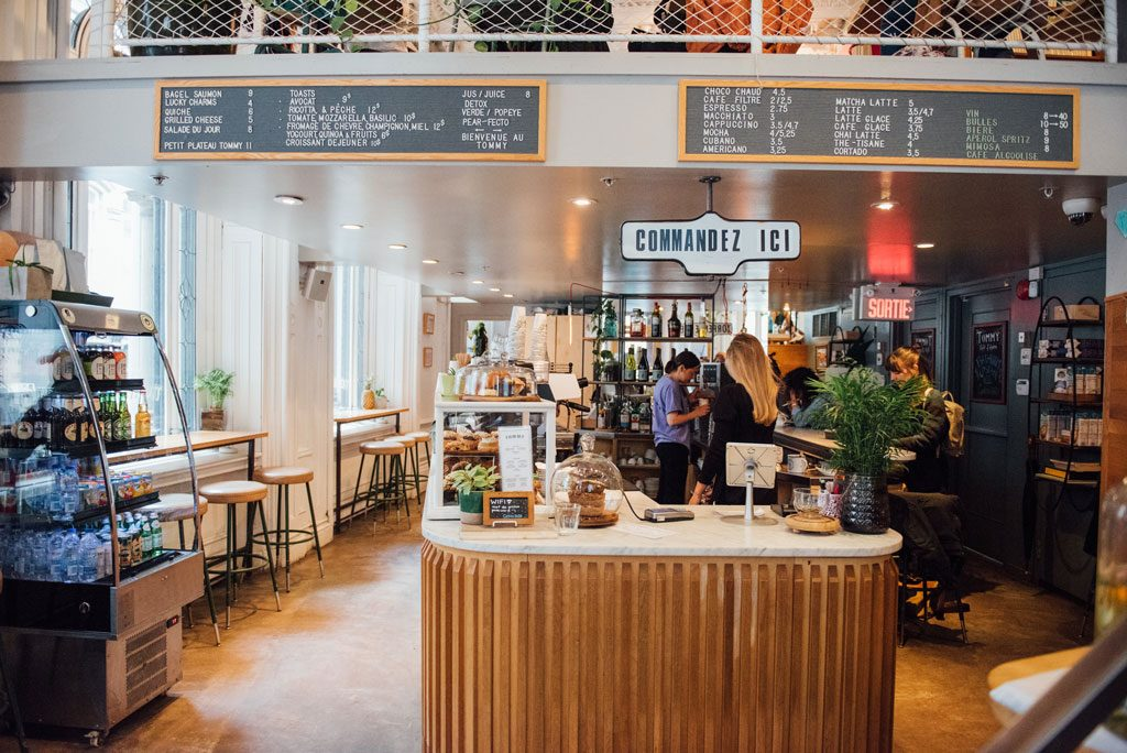 Tommy cafe montreal