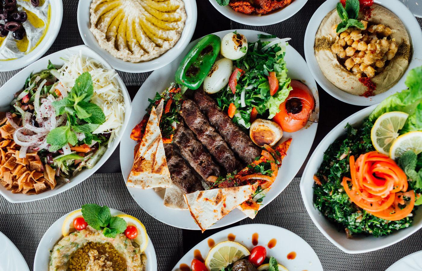 Les meilleurs restaurants du Moyen-Orient