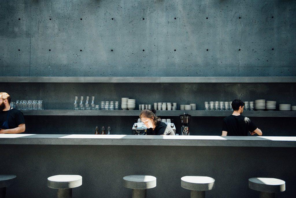 Ssense café montreal fantôme pastel old port