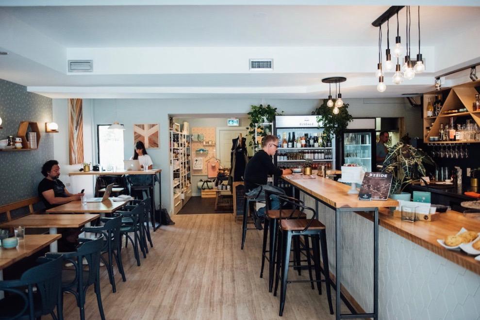 Café Elsdale restaurant montreal