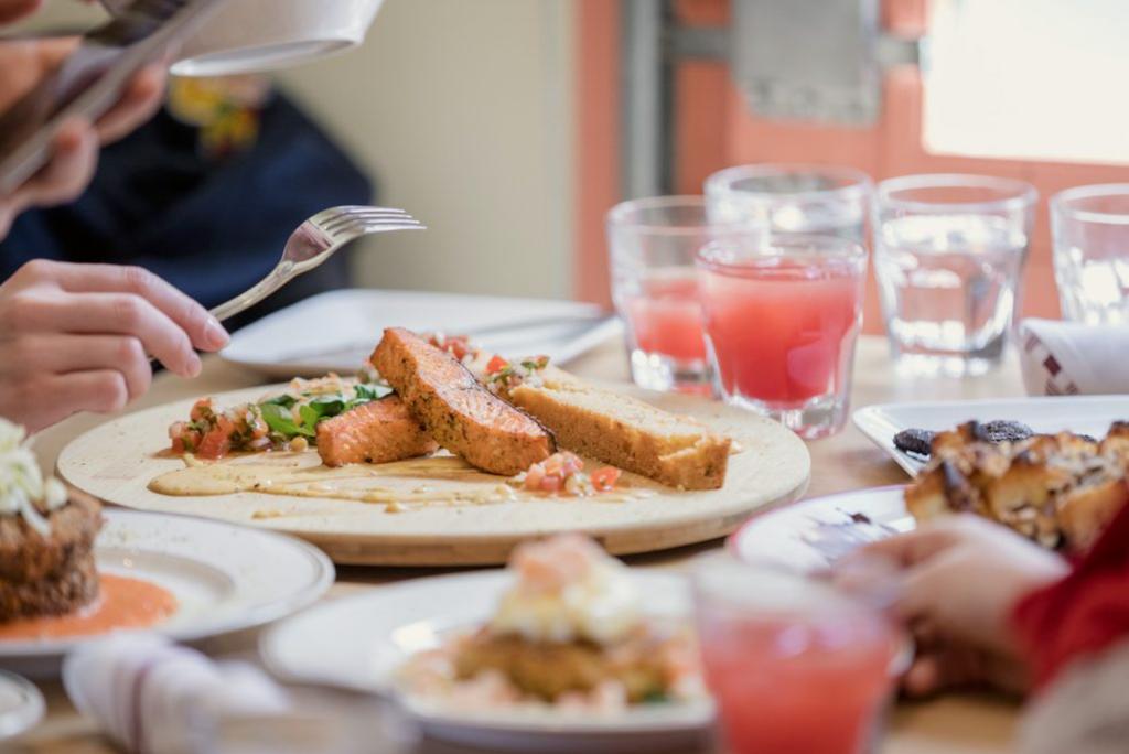Palme restaurant nourriture antillaise Sainte Catherine
