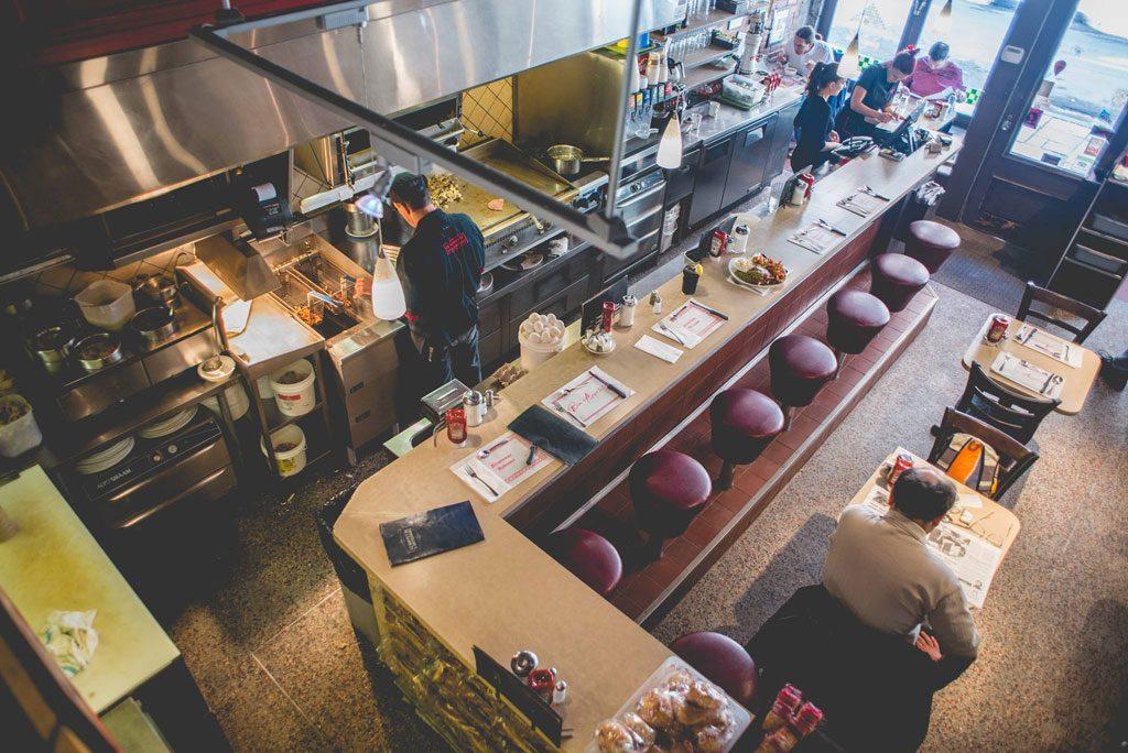 Buffet de l'Antiquaire diner Québec