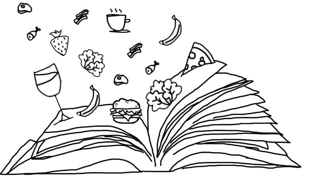 Livres gourmands autour de la bouffe