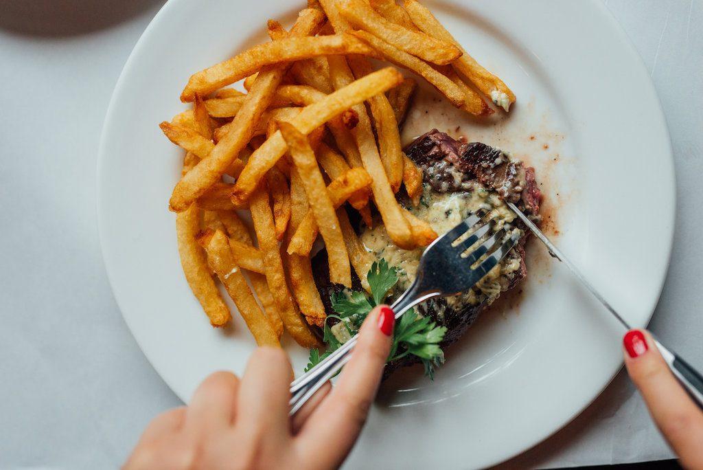 meilleurs steak frites l'express montreal