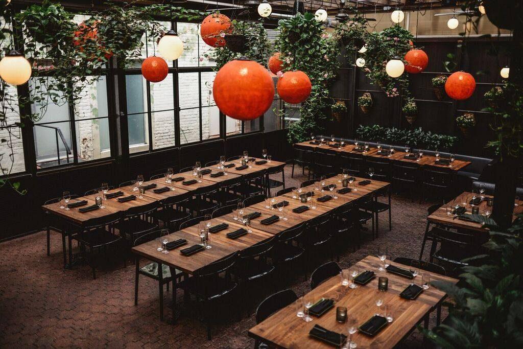 terrasse intérieure Jatoba downtown restaurant centre-ville montreal