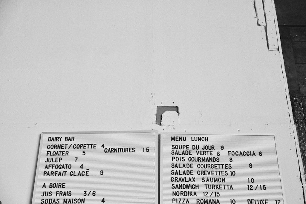Moleskine restaurant Parc Montreal