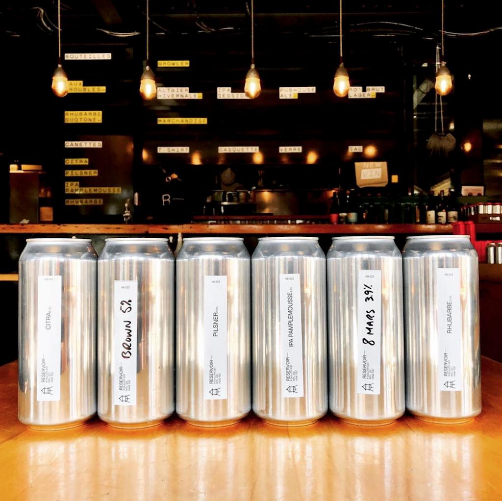 bières à emporter covid-19