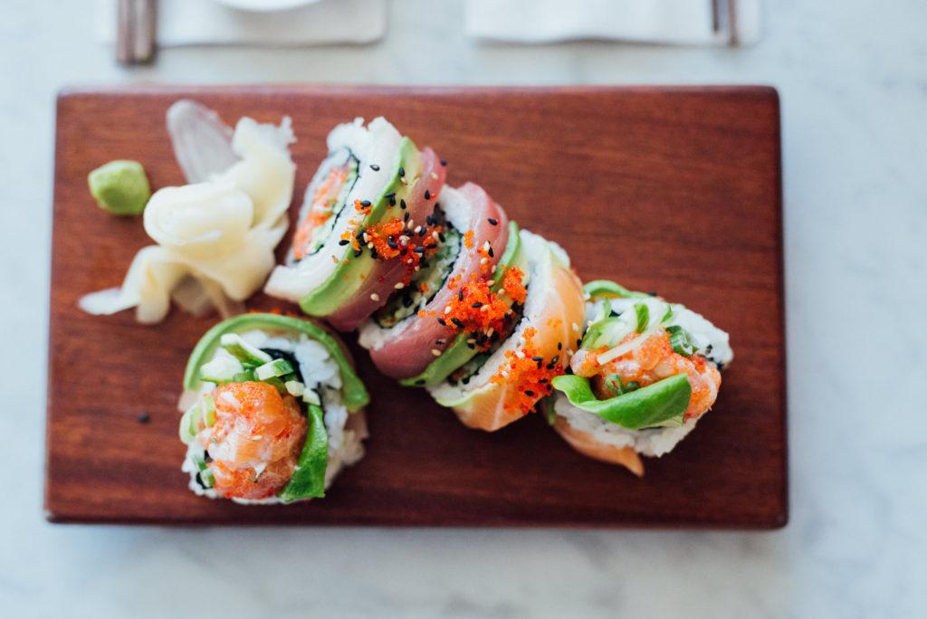 sushis livraison