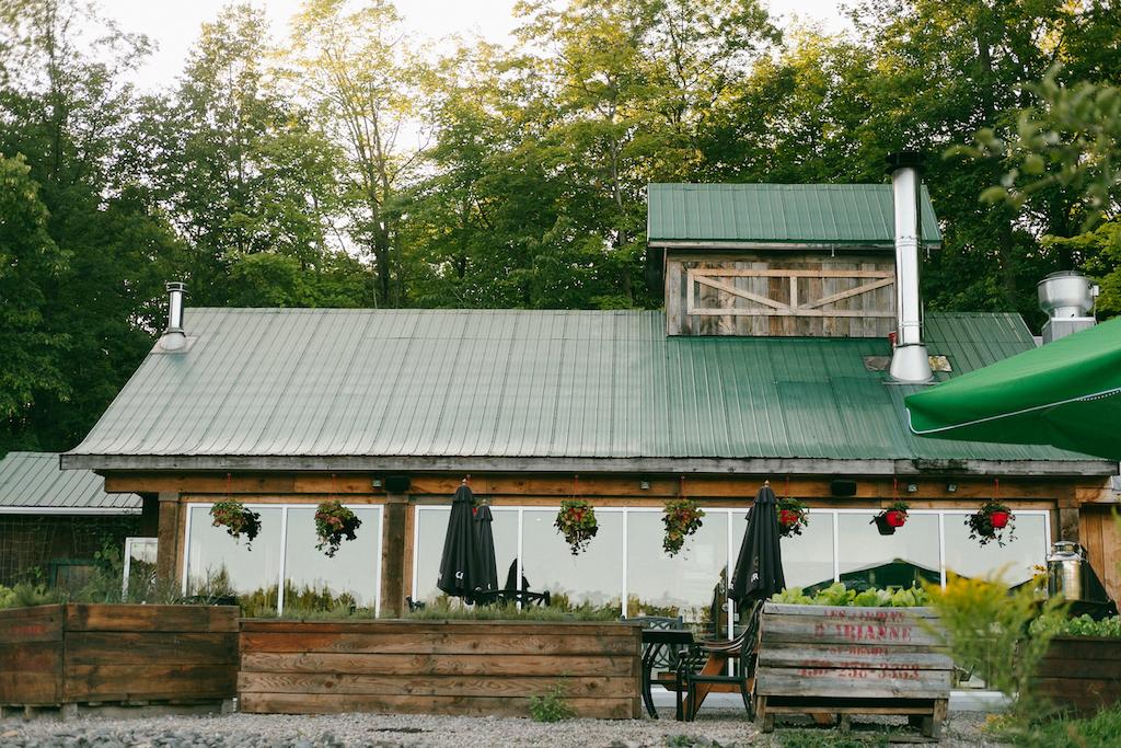 cabane d'à côté pique-nique