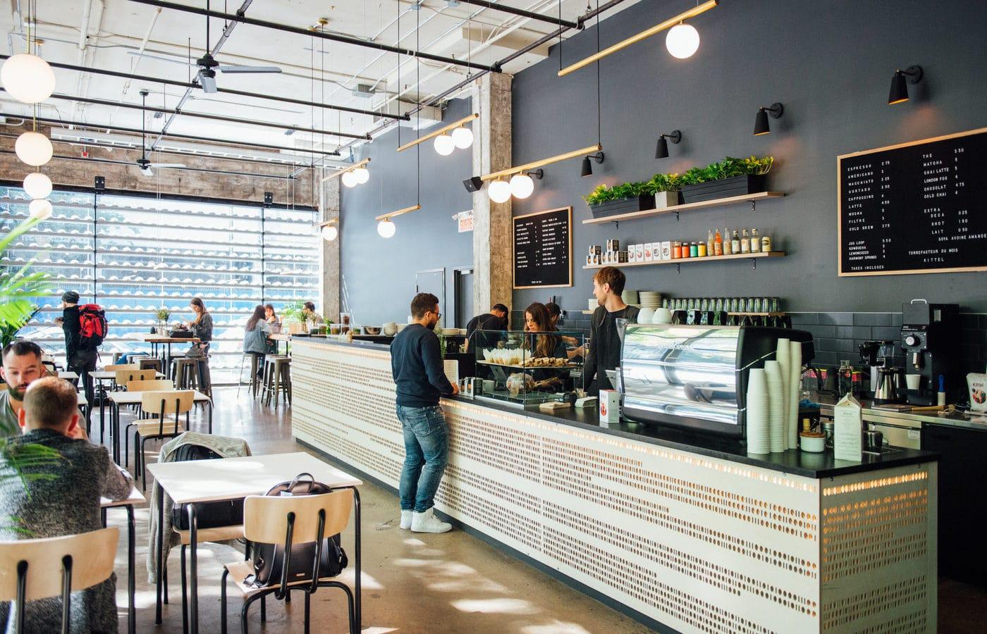 Cafés third wave