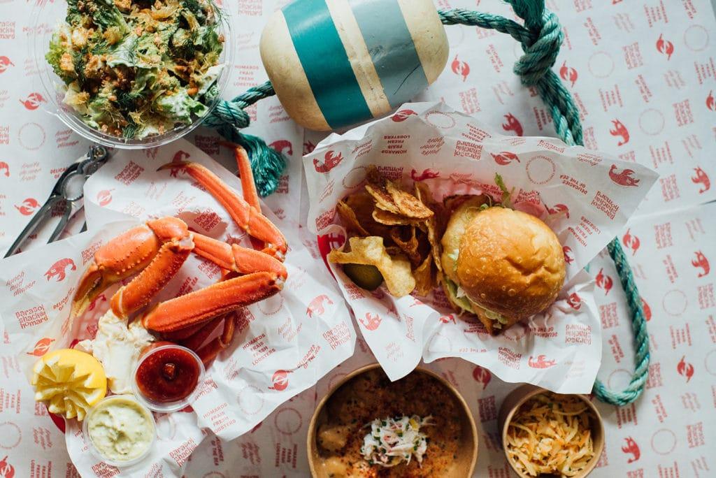 crab shack parasol