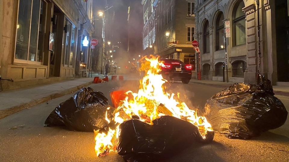 manifestations vieux-montréal
