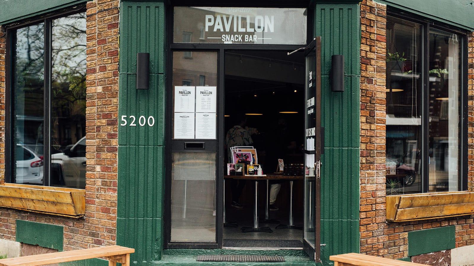 pavillon snack bar Verdun