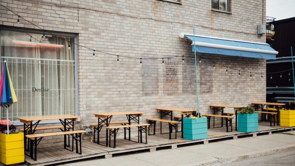 terrasse café denise